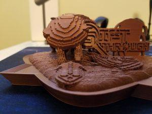 Sift Through Cambrian 3D Print