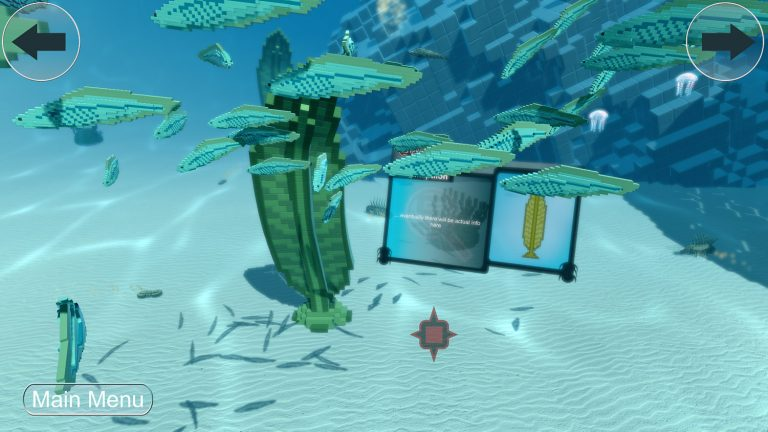 Sift Through Cambrian Video Game